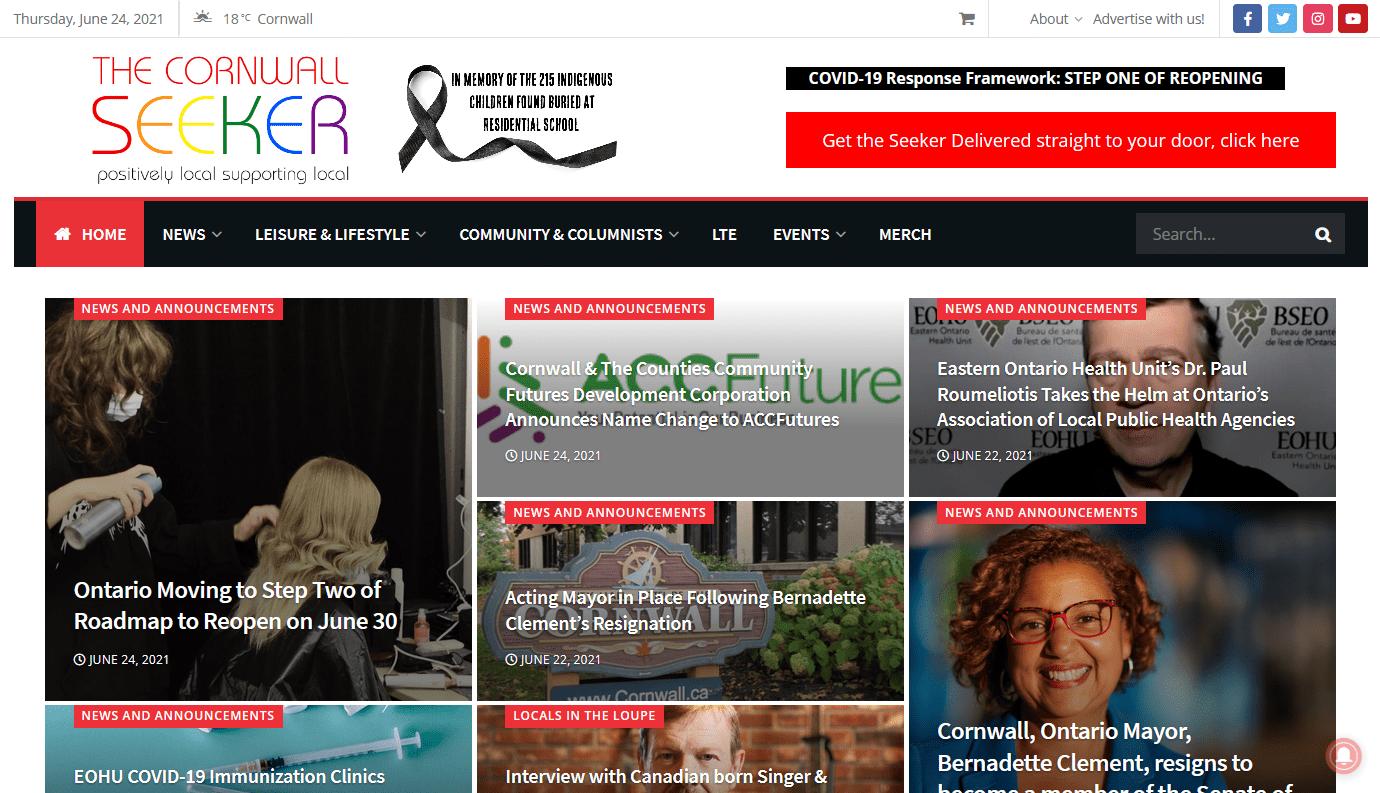 web design cornwall ontario